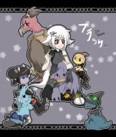 pokemon JP black team by mr-tiaa
