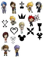 Kingdom Hearts Commission by Humming-Fly