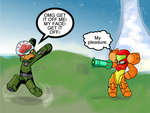 No so tough now, Master Chief. by Samus-Aran