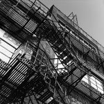 Fire Escapes are Beards by copperrein