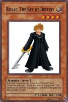 Roxas, The Key of Destiny card by A5L