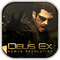Deus EX Evo. Game Icon by Wolfangraul