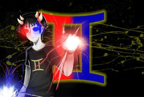 HS - Sollux Captor Wallpaper by lady-shroom