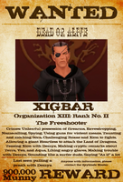 Wanted: Xigbar by gttorres