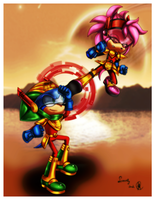 .:Zonzamy battle practice:. by Rubisha