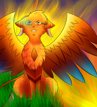 I Create The Flames - Phyrra by TheReelSugarsword