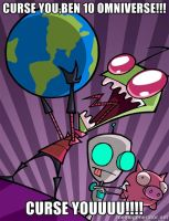 anti omniverse meme-invader zim by popaandreea