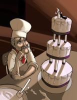 The Lonely Baker by thurinus