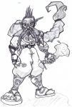 Dungeons and Dragons Dwarf Character by ArtOfPhranger