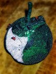 Sequin apple. by jennystokes