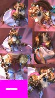 Twilight Princess Zelda pony by LightningSilver-Mana