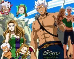 Fairy Tail ElfGreen by KawaiiHimeLucy
