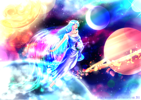 My Dream Contest Entry~To the Stars by MoonOfYomi