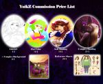 YuikZ Commission price list by YuikZ