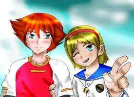 chris and sherry request/2 by doioakina