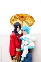 DRAMAtical Murder - Koujaku and Aoba by AilesNoir