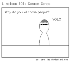 Limbless #01: Common Sense by Yellow-Slime
