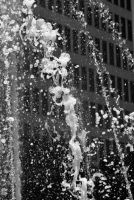 Fountain and Office building by shuttermonkey89