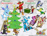 OC Christmas Party 2014 by Thyloguy