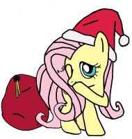 Fluttershy: SantaShy by Closer-To-The-Sun