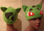 Bulbasaur Hat by FleeceMonster
