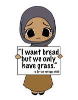 'We have to eat grass' by Nahmala