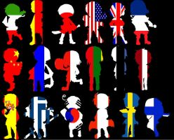 APH Poster- flags by ArmedDestiney