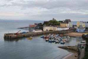 Tenby Pembs UK by taramara