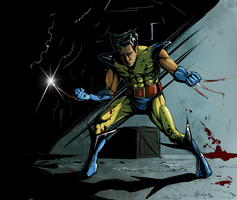 Wolverine - colored by Afterlaughs