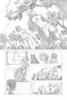 Marvel Sample Pencil Page 1 by kewber