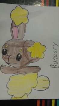 Easter gift (1/2):Buneary by vocaloidninja1999
