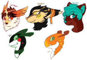 Species lot  by AgenderedKing