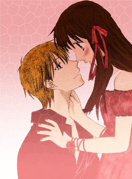 1. Love - Kyo and Tohru by Fancsa