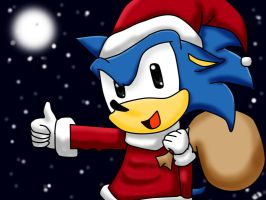 Have a Sonic Christmas by Kira-439-Star
