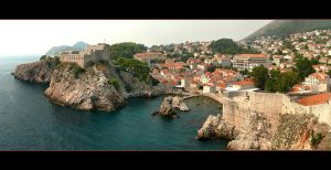 Dubrovnik's Walls And Cliffs - Croatia by skarzynscy