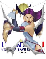 Psylocke I WANT YOU 2012 by LucasAckerman