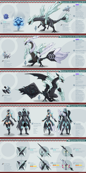 Pokemon Hunter: Kyurem by PursuerOfDarkness