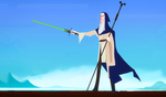 Gandalf the Jedi by Art-Calavera