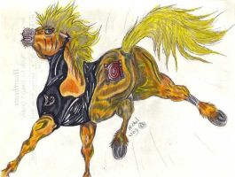 Naruto Stallion by mw-roach