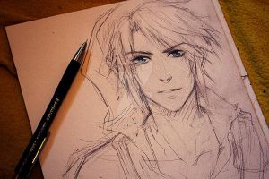 Link sketch by Laovaan