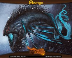 Moonga - Creature from the Kingdom of Waters by moonga