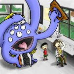 The handyman monster by ifes