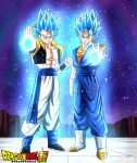 Gogeta and Vegetto SSJ Blue by Surgeon-Art