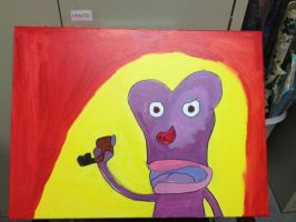 My painting of Etno by princessbreanne