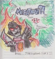 STARSCREAM HATES MEGATRON by Sanguijuela