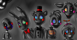 Toys (Five Nights at Freddy's 2) by ArtyJoyful