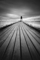 Whitby-West-Pier by RyanMichael
