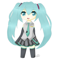 Hatsune Miku by AsianLuna