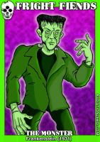 Frankenstein Monster by RossRadiation