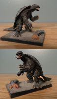 Gamera 99 toy by Legrandzilla
